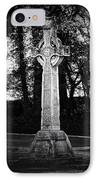 Celtic Cross In Killarney Ireland IPhone Case by Teresa Mucha