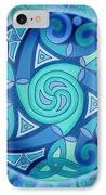 Celtic Planet IPhone Case by Kristen Fox
