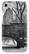 Central Park And The San Remo Building IPhone Case by John Farnan