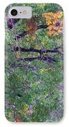 Changing Of The Seasons IPhone Case by Mary Deal