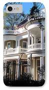 Charlestons Beautiful Architecure IPhone Case by Susanne Van Hulst