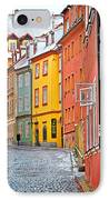 Cheb An Old-world-charm Czech Republic Town IPhone Case by Christine Till