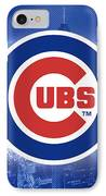 Chicago Cubs Baseball IPhone Case