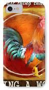 Chicken Little IPhone Case by Joel Payne