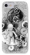 Child In Time IPhone Case by Michal Boubin