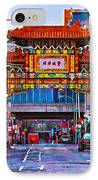Chinatown Arch Philadelphia IPhone Case by Bill Cannon