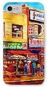 Chinatown Markets IPhone Case