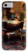 Chopin Playing The Piano In Prince Radziwills Salon IPhone Case