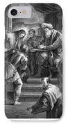 Christ Before Pilate IPhone Case by Granger