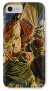 Christ On The Sea Of Galilee IPhone Case by Jack Hayes