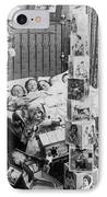 Christmas Eve, C1898 IPhone Case by Granger