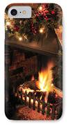 Christmas Fireplace IPhone Case by Andy Smy