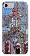 Church In Woods IPhone Case