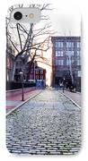Church Street Cobblestones - Philadelphia IPhone Case by Bill Cannon