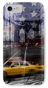 City-art Nyc Composing IPhone Case by Melanie Viola
