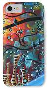 City By The Sea By Madart IPhone Case