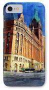 City Hall And Lamp Post IPhone Case