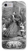 Civil War: Christmas IPhone Case by Granger