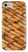 Clay Roof Tiles IPhone Case by David Buffington