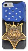 Close-up Of The Medal Of Honor Award IPhone Case by Stocktrek Images