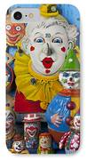 Clown Toys IPhone Case by Garry Gay