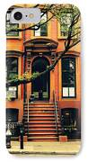 Cobble Hill Brownstones - Brooklyn - New York City IPhone Case by Vivienne Gucwa