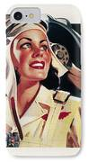Coca-cola Ad, 1941 IPhone Case by Granger
