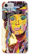 Collage Portrait IPhone Case by Oprisor Dan