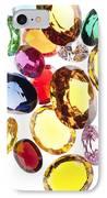 Colorful Gems IPhone Case by Setsiri Silapasuwanchai