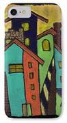 Colorful Neighborhood IPhone Case