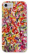 Colorful Organza IPhone Case