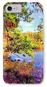 Colorful Reflections IPhone Case by Kristin Elmquist