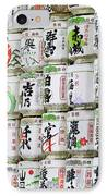Colorful Sake Casks IPhone Case by Bill Brennan - Printscapes