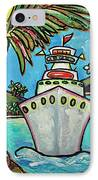 Colors Of Cruising IPhone Case by Patti Schermerhorn