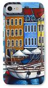 Colours Of Nyhavn IPhone Case by Lisa  Lorenz