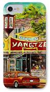 Commissioned Building Portraits By Carole Spandau Classically Trained Artist  IPhone Case
