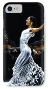 Concentracion Del Funcionamiento Del Flamenco IPhone Case