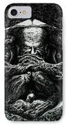 Contemplation IPhone Case by Tobey Anderson