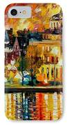 Copenhagen Original Oil Painting  IPhone Case