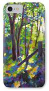 Corner Post IPhone Case by Mary McInnis