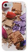 Cosmetics Mess IPhone Case by Garry Gay
