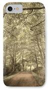 Cosy Path IPhone Case by Svetlana Sewell