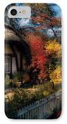 Cottage - Grannies Cottage IPhone Case by Mike Savad