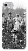 Cotton Planter & Pickers, C1908 IPhone Case