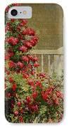 Crimson Rambler IPhone Case by Philip Leslie Hale