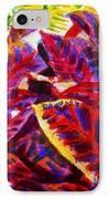 Crotons Sunlit 1 IPhone Case