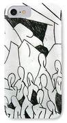 Crowd IPhone Case