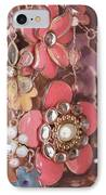 Crystal Flowers IPhone Case