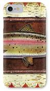 Cutthroat Trout Lodge IPhone Case