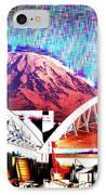 Da Mountain And Stadia 2 IPhone Case
